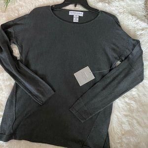 New York Laundry Grey Thin Sweater